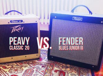 Amplificatori A Confrono: Peavey Classic 20 vs Fender Blues Junior III