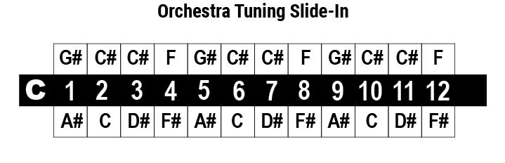 cromatica orchestra tuning slide in
